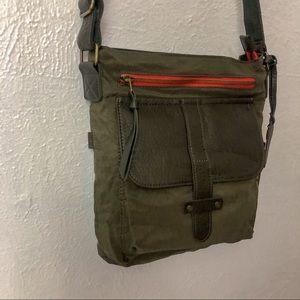 Pistol Canvas Crossbody Bag